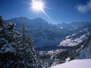 Adelboden, Berner Oberland, Schweiz