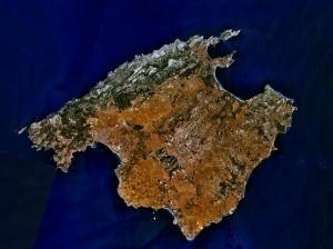 Mallorca aus der Vogelperspektive