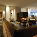 Relax Lounge mit Kamin