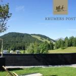 Ausblick vom Krumers Post Hotel & Spa****