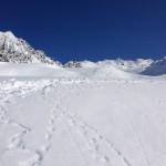 Tiefschnee Abfahrt Obergurgl Ötztal