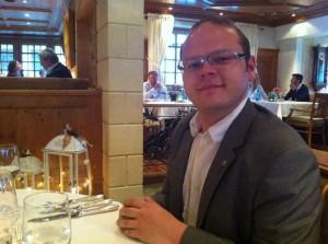 Harald Bruischütz - glücklicher Gewinner eines Wellness Wochenendes im Wellness & Sport Hotel Post ****S