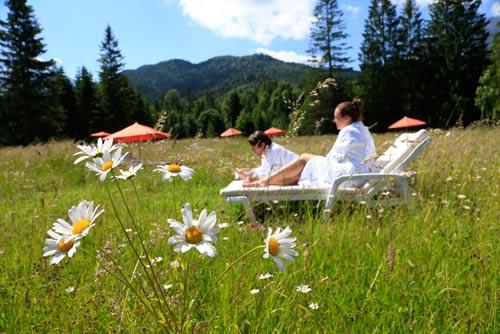 Das wahrscheinlich ruhigste Hotel in den Alpen